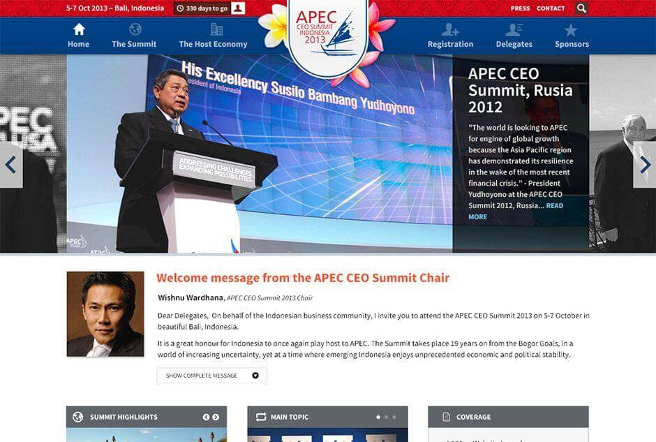APEC CEO Summit 2013